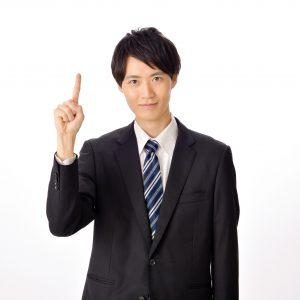 スーツ姿の男性3