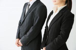 男女ビジネスマン