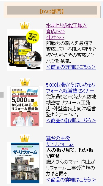 ヒット商品ランキング2018年DVD部門